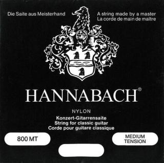 Einzelsaite Hannabach Klassikgitarre - H2 Serie 800 Medium Tension