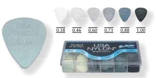 Plectra Dunlop Nylon Serie 44 R