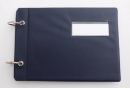 Marschbuch Deckel Kleinformat mit Ringen 18x12,5 cm (verschiedene Farben)