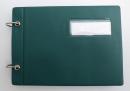 Marschbuch Deckel Raikaformat mit Ringen 18,5x13 cm (verschiedene Farben)