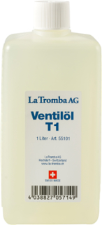 La Tromba T1 Valve Oil mit Silikon 1 Liter
