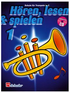 DeHaske - Hören, Lesen & Spielen 1 - Trompete in C mit CD
