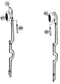 Yamaha Klappen-Rollen-Schraube H-/Cis-Klappe für B-Klarinette (1)