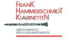 """Frank Hammerschmidt  SET 2  B-Klar. """"interclarinet"""" FH04 D & ESM"""