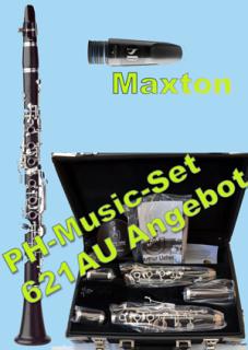 F.A. UEBEL B-621AU Bb-Klarinette - Maxton Set
