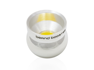 Brand Booster für Bariton/Posaune/Tenorhorn-Mundstücke in Silber