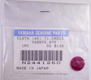 Klappen-Filz  für Yamaha Saxophone 855/875 rot Yamaha