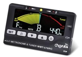 Cherub Digital Metro Tuner/Metronom WMT-578 chromatisch