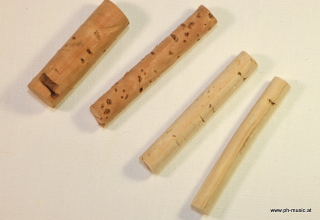 Kork-Stange 40 mm lang für Hufeisenanschläge D=7 mm (4)