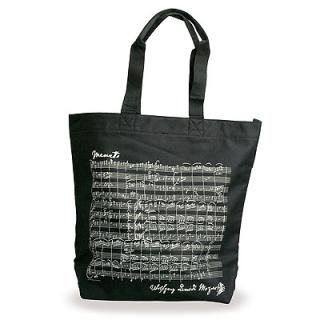 Shopping-Tasche Mozart schwarz MOZART