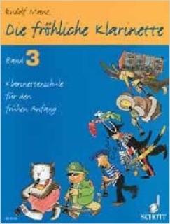 Rudolf Mauz - Die fröhliche Klarinette 3 ohne CD