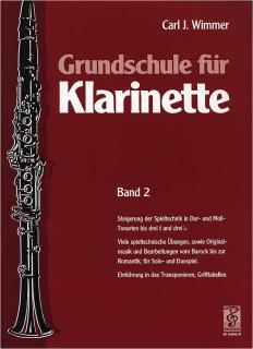Grundschule für Klarinette, Band 2 von Carl J. Wimmer