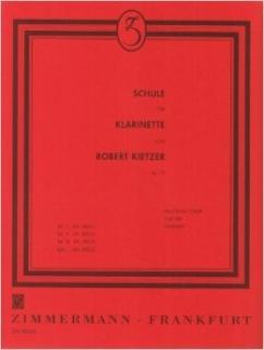 Robert Kietzer - Schule für Klarinette op. 79 Teil 1