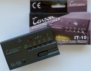 Stimmgerät Tenson IT-10 für Gitarre und E-Bass