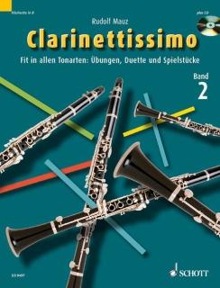 Clarinettissimo - Band 2 mit CD v. R.Mauz