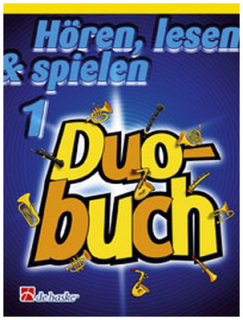 DeHaske - Hören, Lesen & Spielen 1 Duo Buch - Alt/Bariton-Saxophon in Es