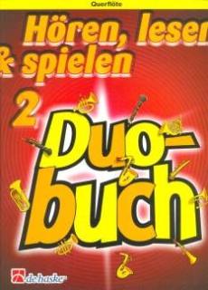 DeHaske - Hören, Lesen & Spielen 2 Duo Buch - Querflöte ohne CD