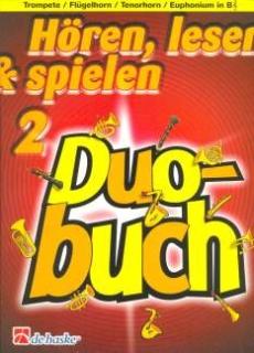 DeHaske - Hören, Lesen & Spielen 2 Duo Buch - Trompete in B