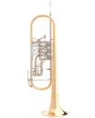 B&S BS30053GT-1-0 Konzert-B-Trompete Goldmessing,...