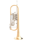 B&S BS3005WGT-1-0 Konzert-B-Trompete Goldmessing,...