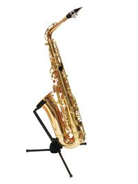 Hercules HCDS431B TravLite series for E flat alto saxophone