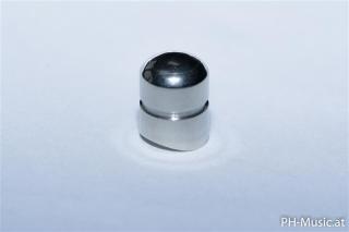 Slide pull-out button 1st slide - Trp / flugelhorn NS straight / milled