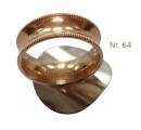 Daumenring NS für Tenorhorn Ring mit Rändel