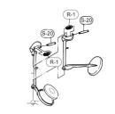 Selmer key roll with screw Eb / C key for Selmer Eb / Bb...