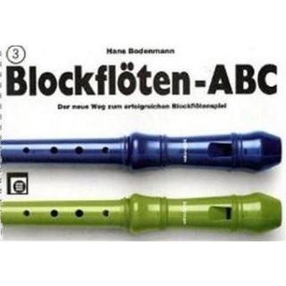 Blockflöten ABC 3, Bodenmann Sopranblockflöte