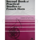 Second Book OF Practical Studies for French Horn (Getchell)