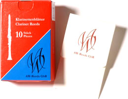 Wilscher B-Klar.-Blätter 2,5 French Cut