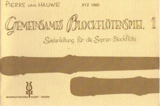 Gemeinsames Blockflötenspiel 1 - v. Pierre van Hauwe