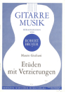 Gitarre Musik v.Mauro Guiliani - Etüden mit...