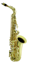 ANTIGUA Eb-Alto-Saxophon AS2155LQ-GH, VOSI-Serie, messing...