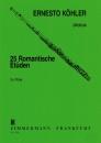 25 ROMANTISCHE ETUEDEN OP 66 von Koehler Ernesto