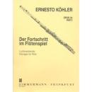 DER FORTSCHRITT IM FLOETENSPIEL 2 OP 33  von Koehler Ernesto