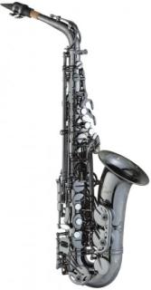 ANTIGUA Eb-Alto-Saxophon AS4248BN-GH Black Nickel, POWER BELL SERIE
