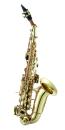 ANTIGUA B-Sopran-Saxophon SS3159LQ-CH gebogen, Klarlack...
