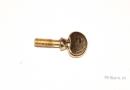 Antigua S-Bogen-Zwingenschraube Saxopon Messing lackiert(1)