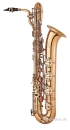 ANTIGUA PRO ONE Eb-Bariton-Saxophon Vintage goldlackiert...