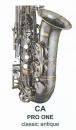 ANTIGUA PRO ONE B-Sopran-Saxophon Classic Antique...