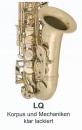 ANTIGUA Bb Tenor Saxophone TS4248LQ-GH Clear lacquered,...