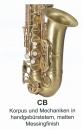 ANTIGUA B-Tenor-Saxophon TS4248CB-GH Handgebürstet,...