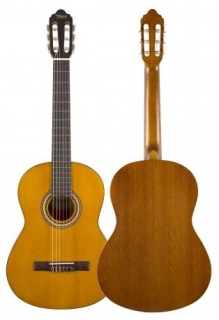 VALENCIA Konzert Gitarre, Fichtendecke Antique Natural 4/4