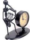 Skulptur mit Uhr Waldhorn