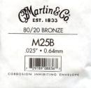 Einzelsaite Martin&Co Gitarrensaite Acoustic Bronze...