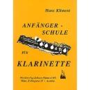 Anfängerschule Klarinette von Kliment Hans