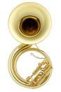 JUPITER JSP1110 BBb Sousaphone, Messing, lackiert, 4 Ventile