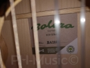 BOLERO Konzertgitarre 1/2, massive Ficht, Kindergitarre