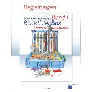 Blockflötenbox 1 - Begeleitheft - Hellbach Daniel + Hellbach Jeannette